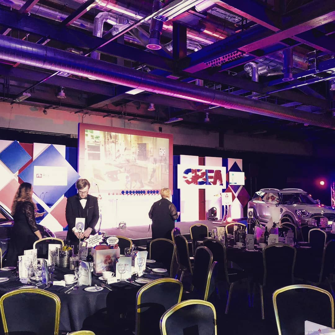Fingers crossed tonight. The team out in Birmingham @Edgbaston for the Natwest @entrepreneursgb awards. 🙏