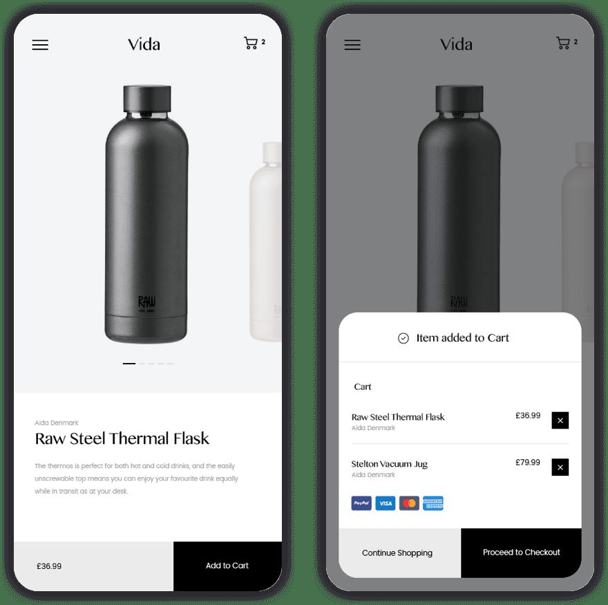 Responsive e-commerce design