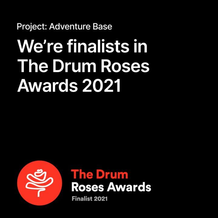 We're delighted to announce that our digital web work for @adventurebase has been nominated as a finalist for this year's Roses awards, created by @thedrumawards @thedrummag :crossed_fingers:  #CreativeAwards #AwardNomination #Awards #TheDrum #Finalist #webdesign #responsive #responsivedesign #travel #travelling #travelgram #adventure #designinspiration #designinspo #behance #dribbble  #travel #travelgram